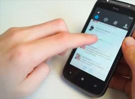 Jakie aplikacje na Windows Phone - nowy Twitter