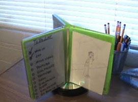 Jak zrobić obracaną ramkę na zdjęcia i notatki