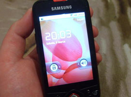 Jak wymienić dotyk z panelem przednim w Samsungu GT I5700