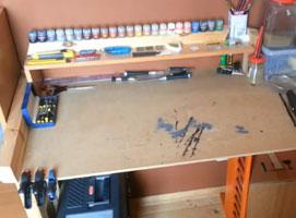 Jak zbudować biurko do modelarstwa