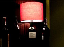 Jak zrobić lampę z wina