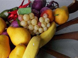 Jak zrobić paterę na owoce z wieszaków