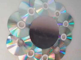 Jak zrobić lustro z płyt CD