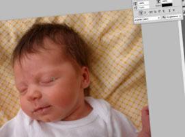 Jak edytować zdjęcia dzieci - usuwanie przebarwień