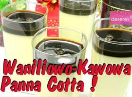 Jak zrobić deser Panna Cotta o waniliowo kawowym smaku