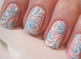Jak zrobić pastelowe wzorki na paznokciach