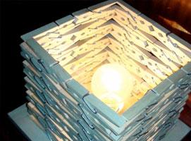 Jak zrobić lampkę z klamerek