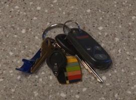 Jak poradzić sobie z kółkiem od kluczy