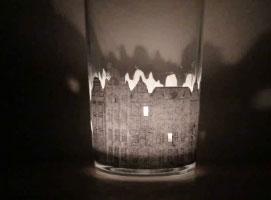Jak zrobić świecznik z motywem kamienicy