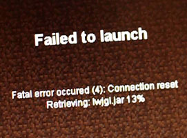 Jak naprawić problem Minecraft Fatal Error Occured (2) FIX