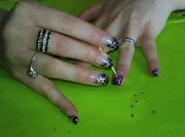 Jak zrobić czadowe gwiazdki na paznokciach