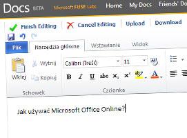 Jak korzystać z pakietu Microsoft Office Online