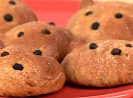 Jak zrobić chlebowe misie