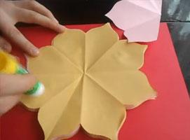 Jak zrobić Laurkę dla mamy #3 - motyw kwiatka