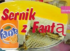 Jak zrobić ciasto bez pieczenia - Sernik z Fantą