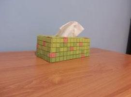 Jak zrobić gipsowe pudełko na chusteczki
