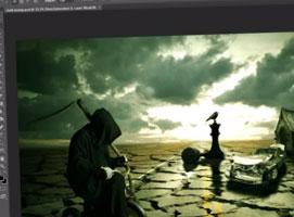 Jak stworzyć manipulację z mroczną scenerią #1