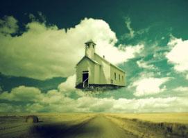 Jak wykonać efekt latającego domu na zdjęciu