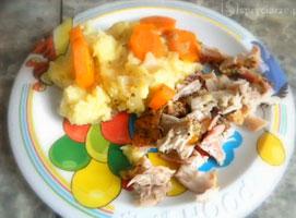 Jak przygotować pieczonego królika z warzywami i puree