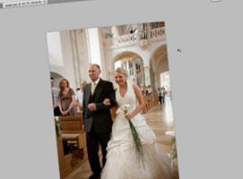 Jak edytować zdjęcia ślubne - ślub w stylu glamour