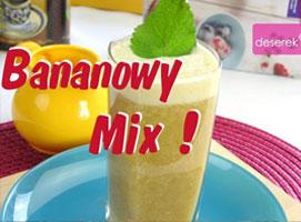 Jak zrobić koktajl owocowy bananowy mix