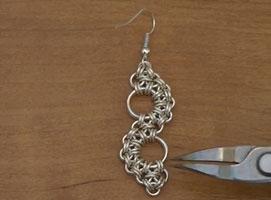 Jak zrobić biżuterię chainmaille #5 - kolczyki Zen