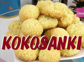 Jak zrobić ciasteczka kokosanki