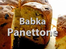 Jak zrobić ciasto - Babka Panettone