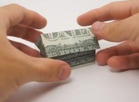 Jak zrobić domek z dwóch dolarów