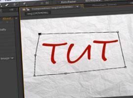 Jak zrobić samopiszący napis w AAE + rysowanie #1