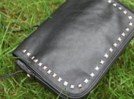 Jak zrobić torebkę typu vintage z ćwiekami