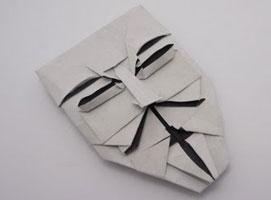 Jak zrobić maskę postaci Guy Fawkes