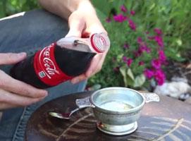 Jak robić lody z coli i innych napojów gazowanych