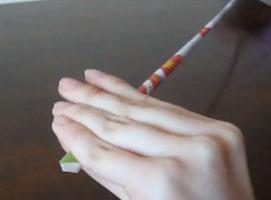 Jak zrobić podkładkę z papierowej wikliny