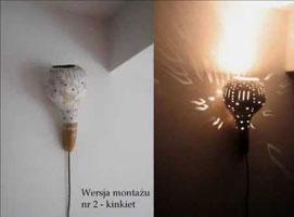 Jak zrobić wiszącą lampę z tykwy i szkła