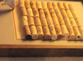 Jak zrobić tablicę z kroków od wina