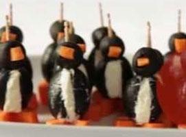 Jak zrobić pingwiny z serka śmietankowego