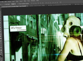 Jak wykonać manipulację zdjęć - toksyczny świat