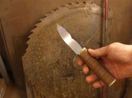 Jak zrobić nóż ze starego łożyska