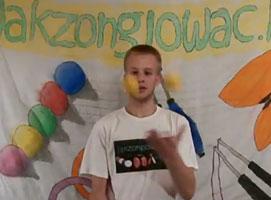 Jak żonglować 4 piłkami - fontanna asynchroniczna