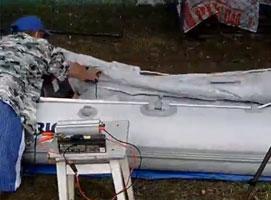 Jak zrobić super szybką pompkę do pontonów i materacy
