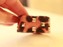 Jak zrobić bransoletkę ćwiekami
