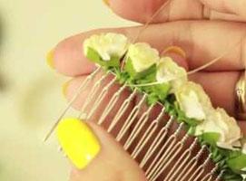 Jak zrobić ozdobę ślubną do włosów