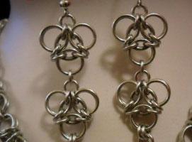 Jak zrobić biżuterię chainmaille #7 - wzór aura i odwrócona aura