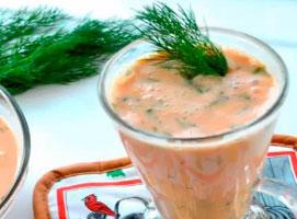 Jak zrobić koktajl z maślanki i soku pomidorowego