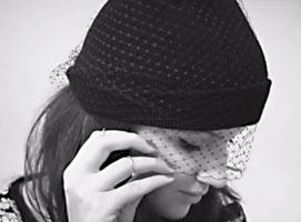 Jak zrobić czapkę beanie z woalką