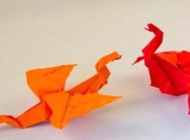 Jak zrobić smoka z papieru - ulepszona wersja