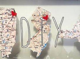 Jak zrobić romantyczną ramkę z mapami