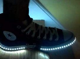 Jak zrobić podświetlane buty