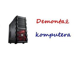 Jak wykonać demontaż komputera